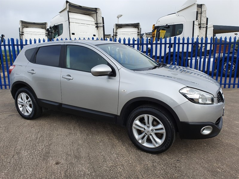 used Nissan Qashqai DCI ACENTA in lincolnshire