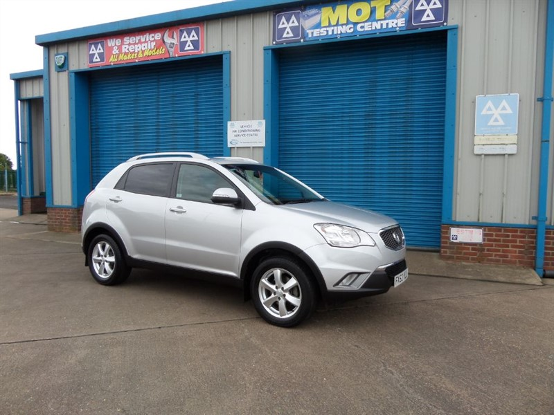 used Ssangyong Korando 2.0 ES 6 Speed Full Leather in lincolnshire