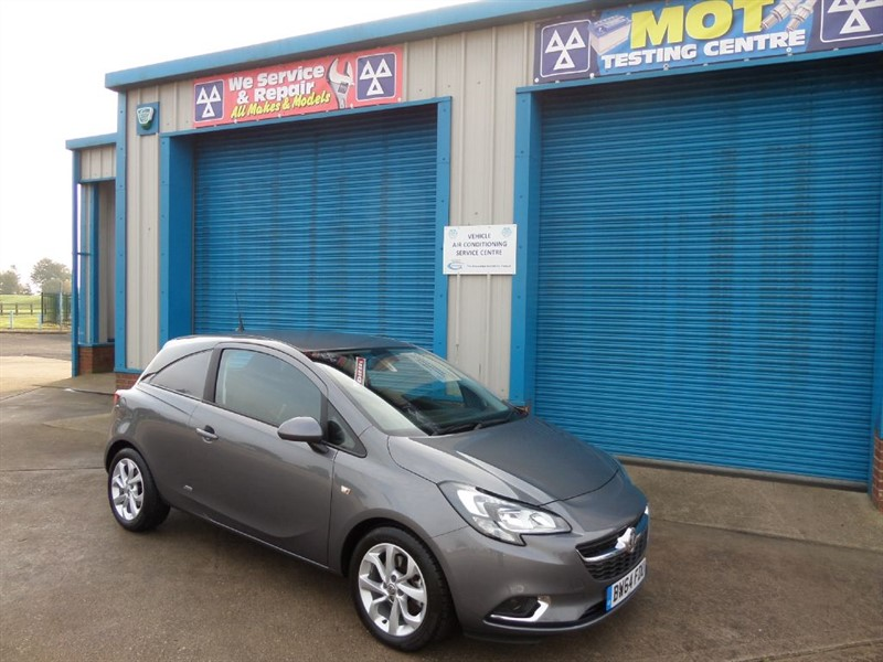 used Vauxhall Corsa SPORTIVE 1.3 CDTI 95ps Van NO VAT in lincolnshire