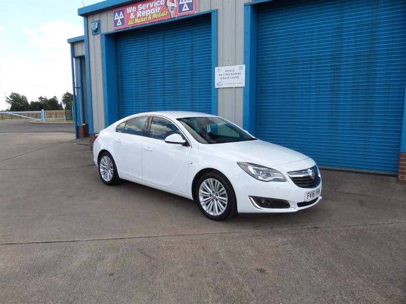 used Vauxhall Insignia TECH LINE CDTI ECOFLEX S/S 170PS in lincolnshire