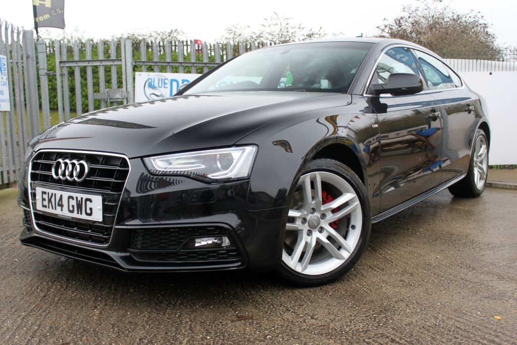 used black audi a5 for sale essex. Black Bedroom Furniture Sets. Home Design Ideas