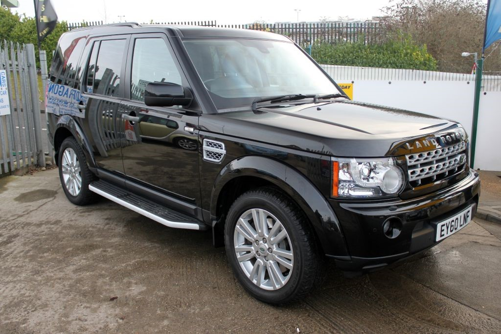 Used Black Land Rover Discovery For Sale
