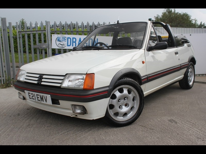 used white peugeot 205 for sale essex. Black Bedroom Furniture Sets. Home Design Ideas