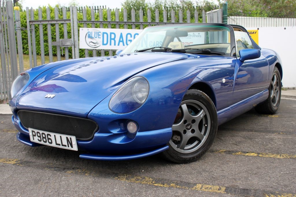 Used Blue TVR Chimaera for Sale