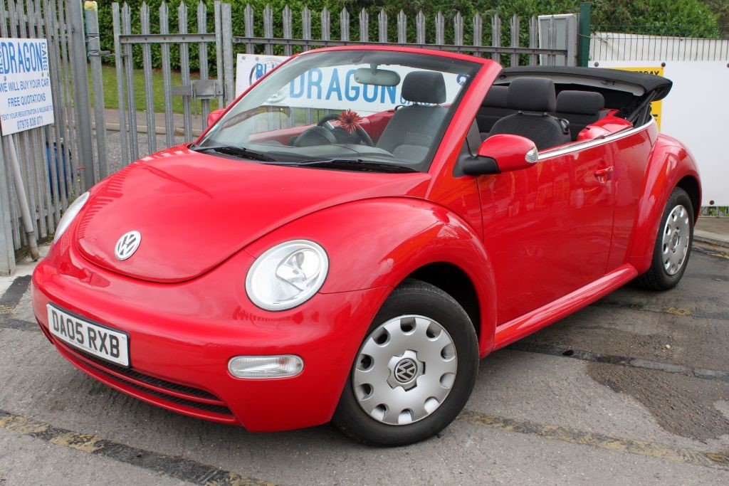 Used Red VW Beetle for...