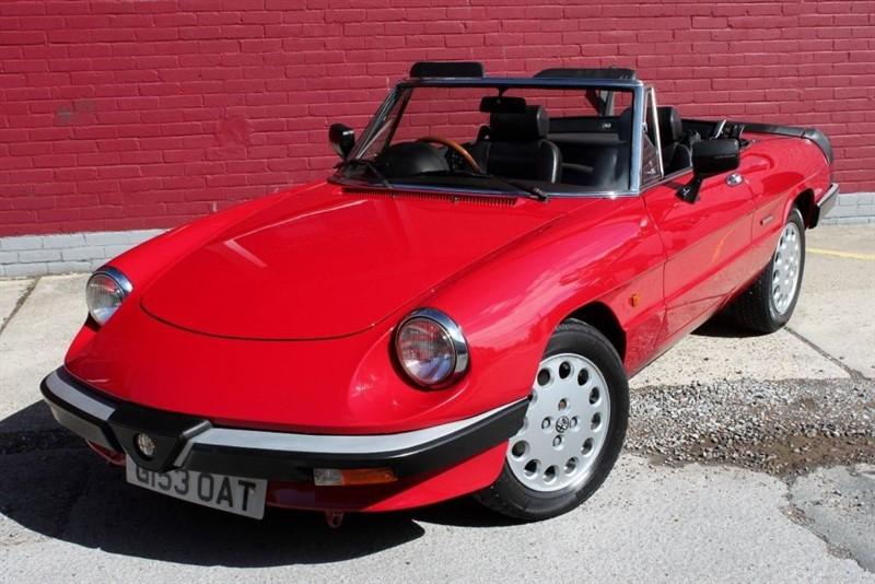 used Alfa Romeo Spider Convertible cabriolet classic  in essex