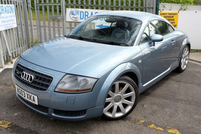 used Audi TT QUATTRO in essex