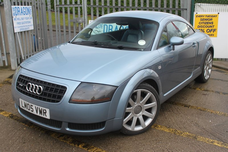 used Audi TT QUATTRO in essex