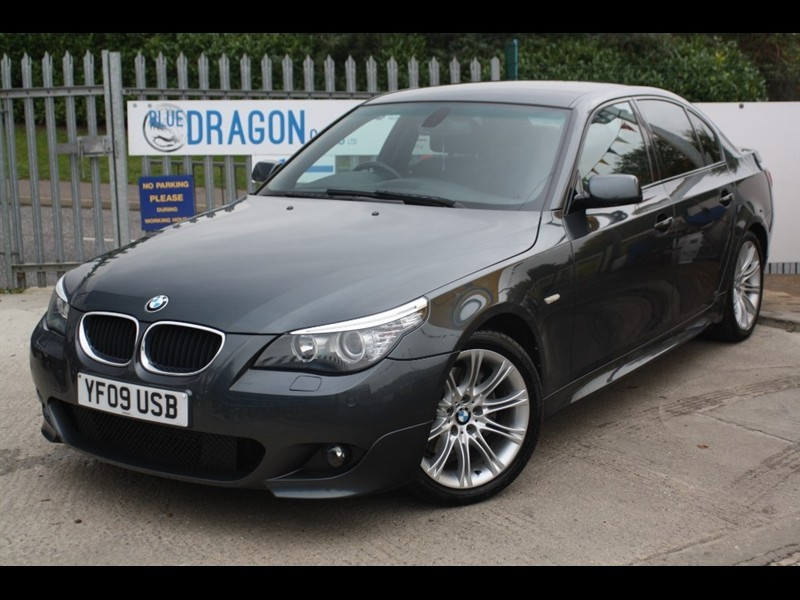 used BMW 520d 5 Series M Sport Business Edition in essex
