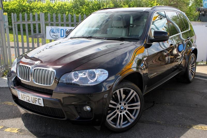 used BMW X5 XDRIVE40D M SPORT in essex