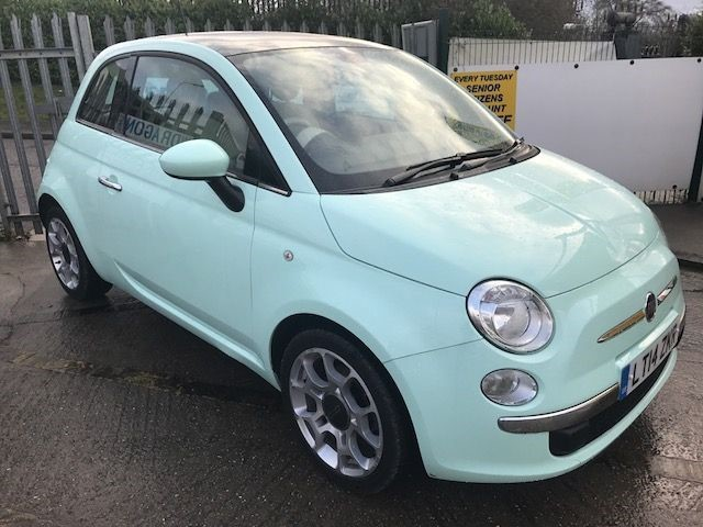 used Fiat 500 TWINAIR LOUNGE  Automatic in essex