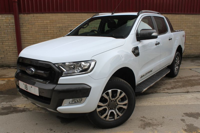 used Ford Ranger 2018Ford Ranger double cab Wildtrak automatic 3.2 TDCi 200 ps with satnav in essex