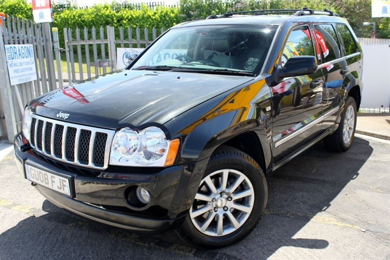 used Jeep Grand Cherokee V6 CRD OVERLAND in essex