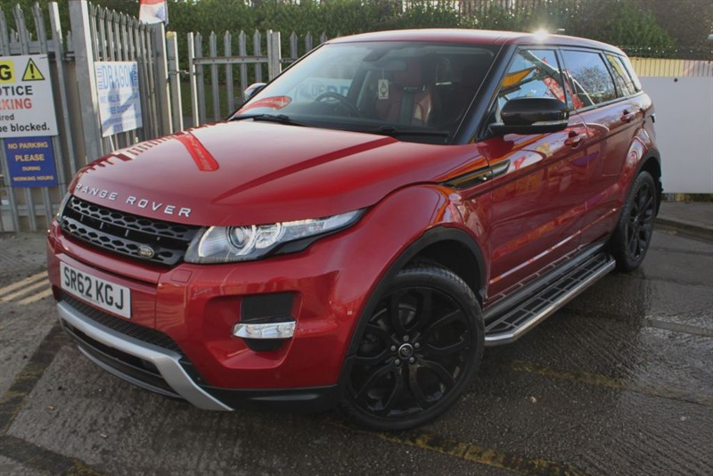 used Land Rover Range Rover Evoque SD4 DYNAMIC LUX 4x4 Diesel Estate in essex