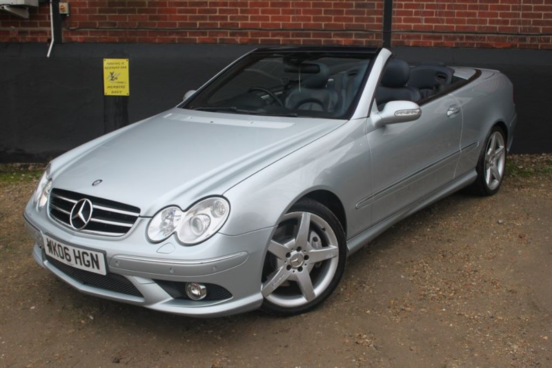 used Mercedes  CLK280 SPORT Convertible automatic coupe in essex