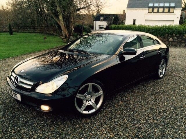 used Mercedes CLS Class Cls320 Cdi in essex