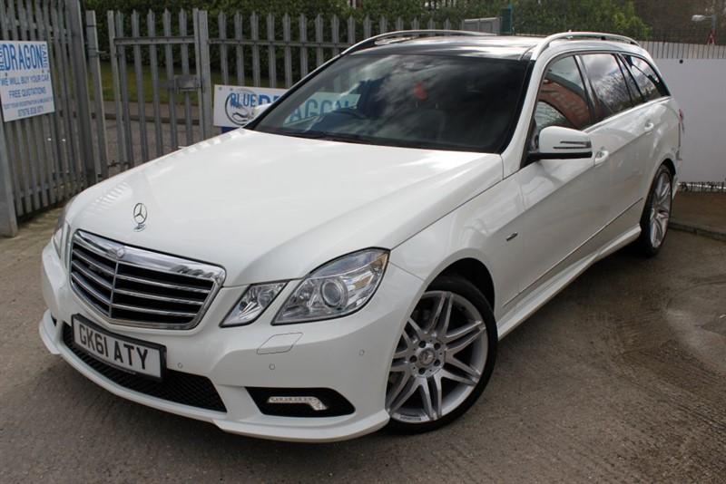used Mercedes E220 CDI BLUEEFFICIENCY SPORT ED125 in essex