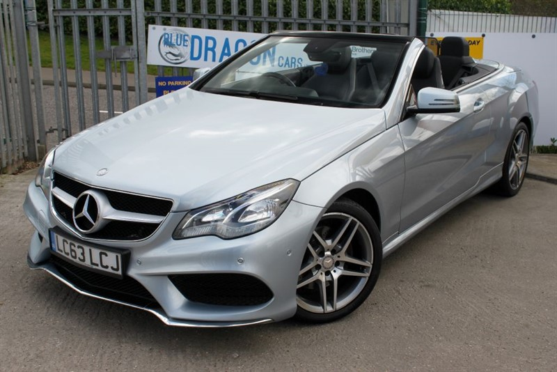 used Mercedes E350 BLUETEC AMG SPORT in essex
