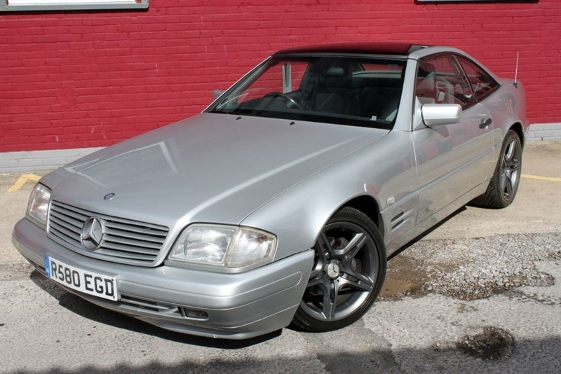 used Mercedes SL SL280,convertible,hardtop soft top full leather,sports coupe in essex