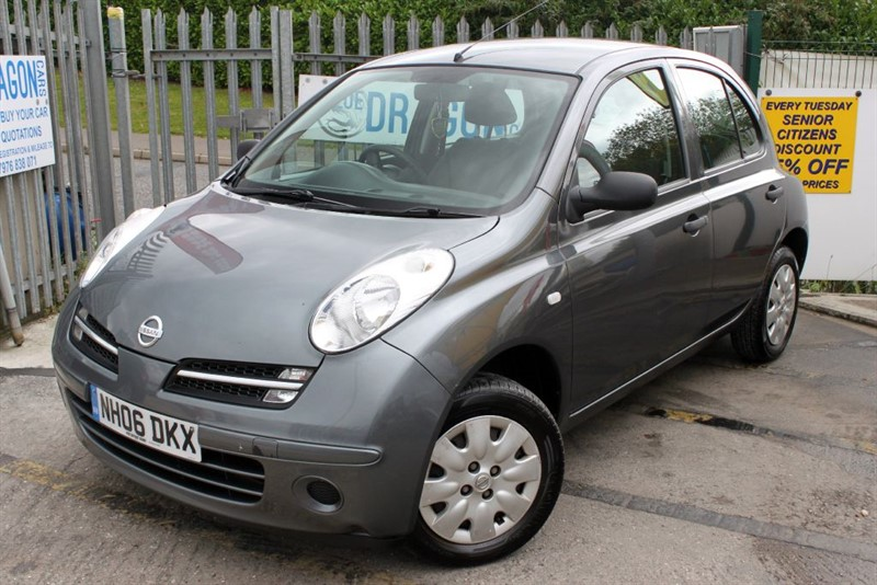 used Nissan Micra S in essex