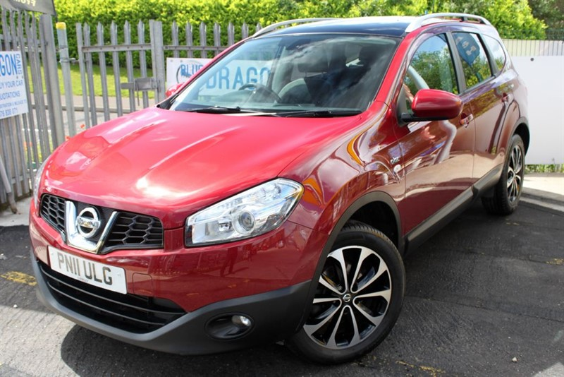 used Nissan Qashqai N-TEC PLUS 2 DCI in essex