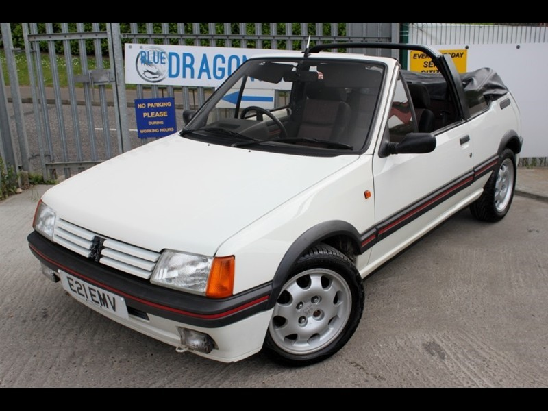used Peugeot 205 Cti Cabrio in essex