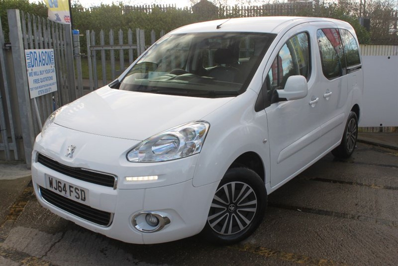 used Peugeot Partner E-HDI TEPEE S Mobility adapted automatic wheelchair access in essex