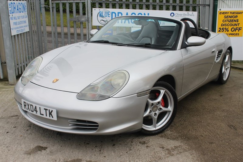 used Porsche Boxster SPYDER 986 Convertible  in essex