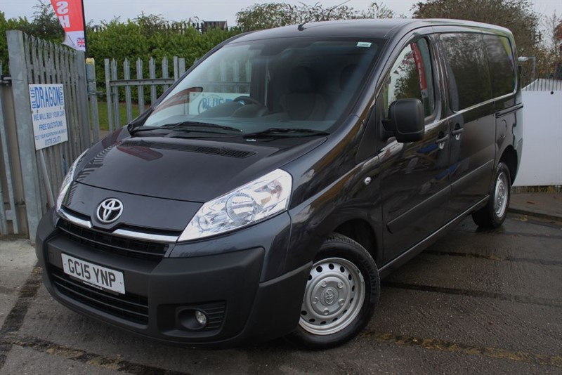 used Toyota Proace L1H1 HDI 1200 P/V NO VAT in essex