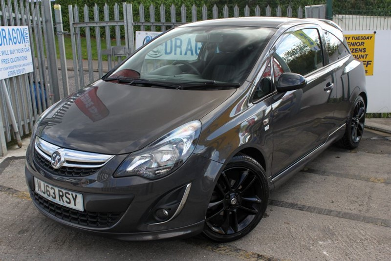 used Vauxhall Corsa LIMITED EDITION in essex
