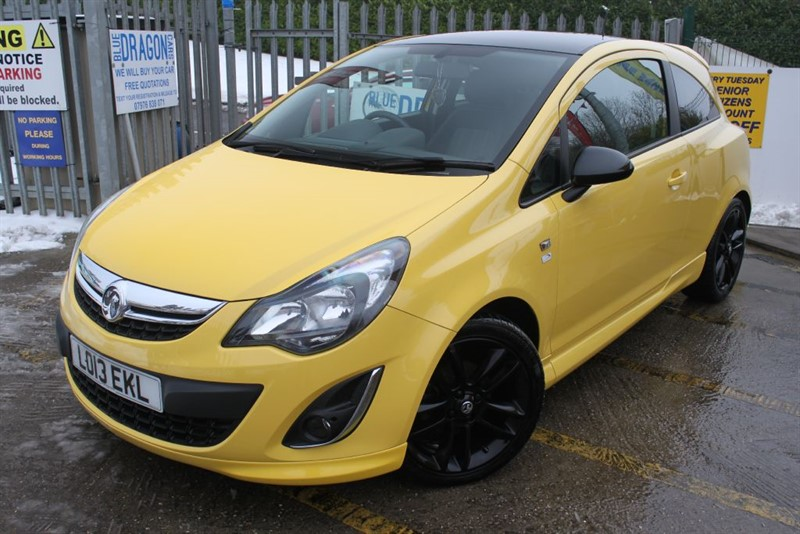 used Vauxhall Corsa LIMITED EDITION 1.2 First Car  in essex