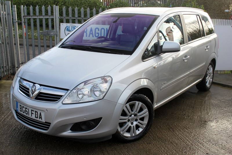 used Vauxhall Zafira ELITE CDTI Finance Available in essex