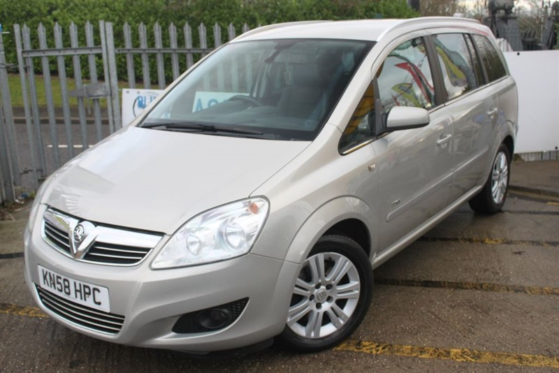 used Vauxhall Zafira DESIGN CDTI 7 seat diesel  in essex