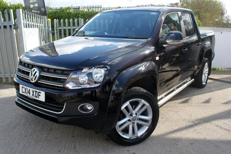 used VW Amarok DC TDI HIGHLINE 4MOTION Pick Up Double cab in essex
