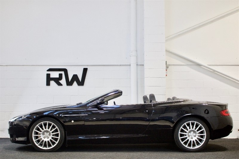 used Aston Martin DB9 Volante Seq 2dr in berkshire