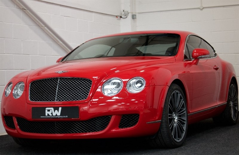 used Bentley Continental Speed W12 GT 2dr in berkshire