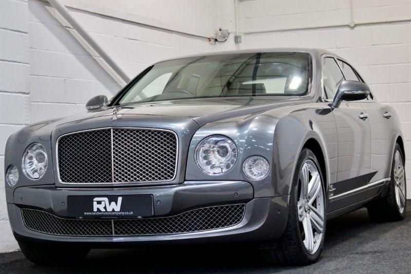 used Bentley Mulsanne V8+FBSH+MASSAGE/RECLINING REAR SEATS in berkshire