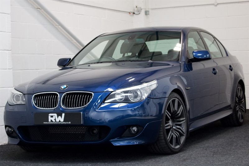 used BMW 550i M SPORT+OVER £12K OF EXTRAS in berkshire
