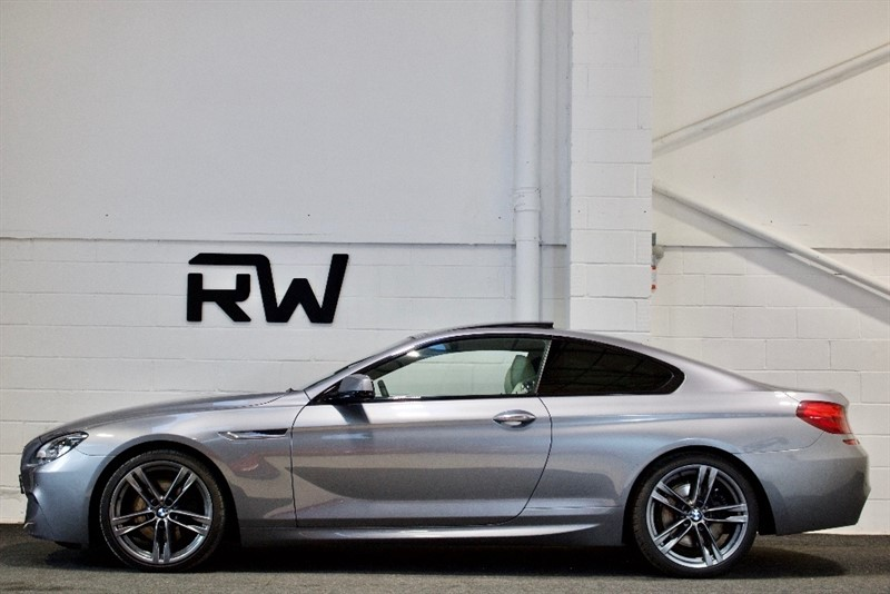 used BMW 640d 6 Series M Sport 2dr in berkshire