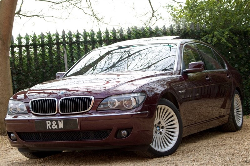 used BMW 760i LI in berkshire