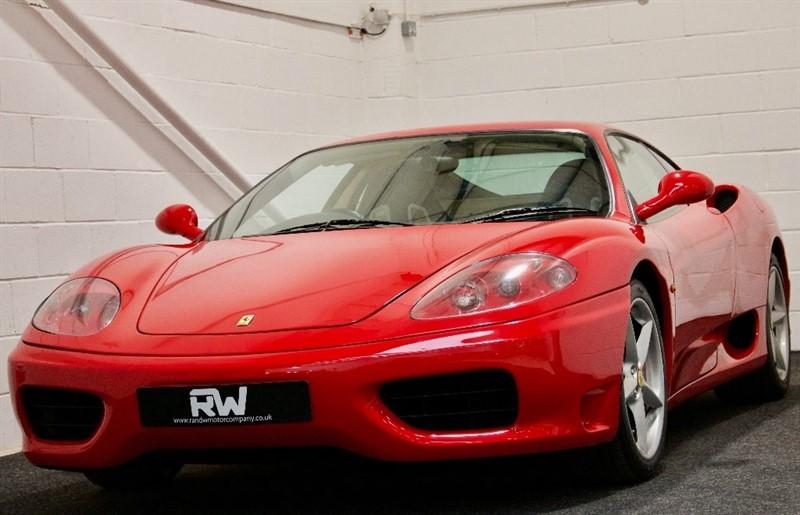 used Ferrari 360 Modena F1 2dr in berkshire