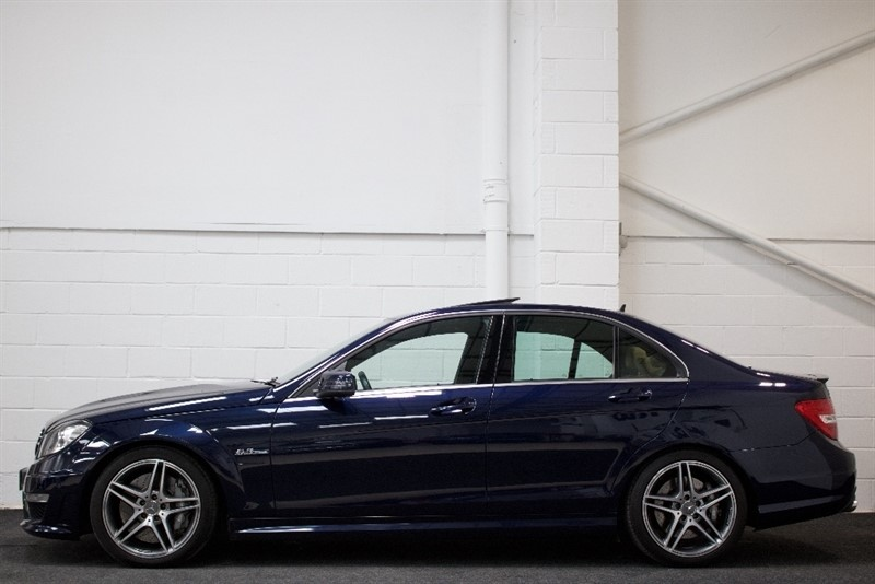 used Mercedes C63 AMG C Class 6.3 Edition 125 7G-Tronic 4dr in berkshire