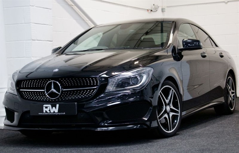 used Mercedes CLA180 CLA CLA180 AMG SPORT in berkshire