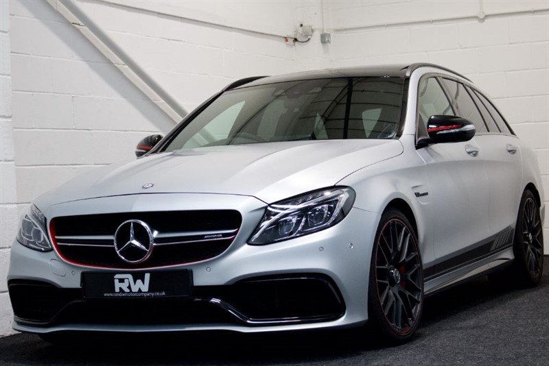 used Mercedes  C-CLASS AMG C 63 S EDITION 1 in berkshire