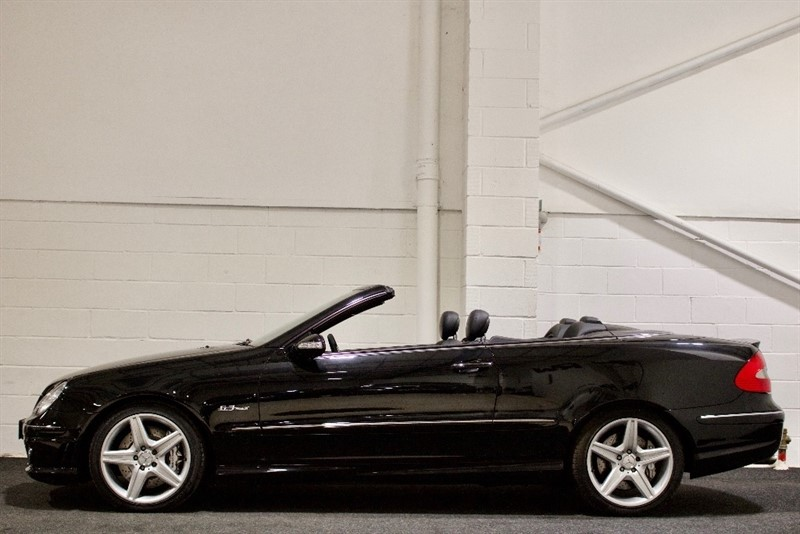 used Mercedes CLK63 AMG CLK 7G-Tronic 2dr in berkshire
