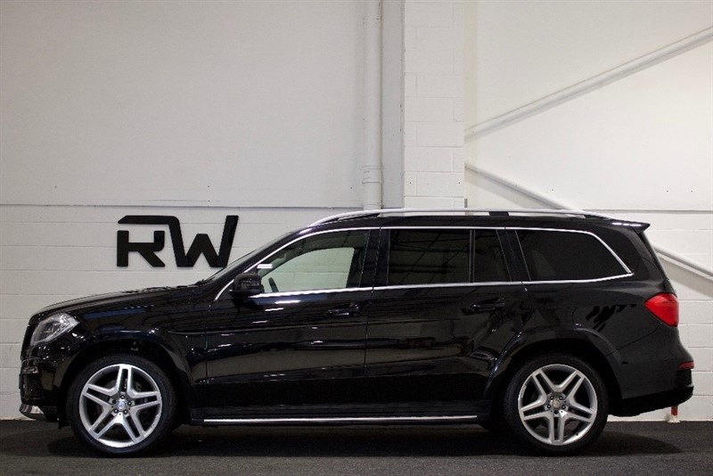 used Mercedes GL Class GL350 CDI BlueTEC AMG Sport 4MATIC 5dr (start/stop) in berkshire