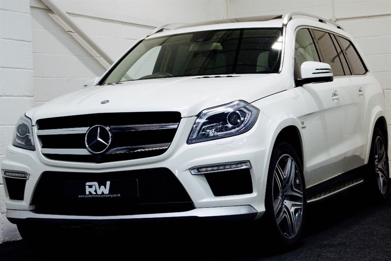 used Mercedes GL Class GL63 AMG Station Wagon Speedshift Plus 7G-Tronic 4x4 5dr in berkshire