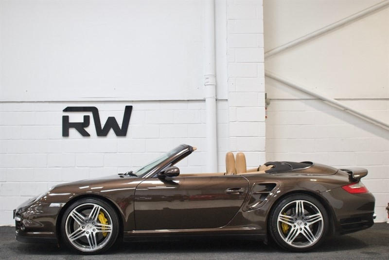 used Porsche 911 997 Turbo Cabriolet Tiptronic S AWD 2dr in berkshire