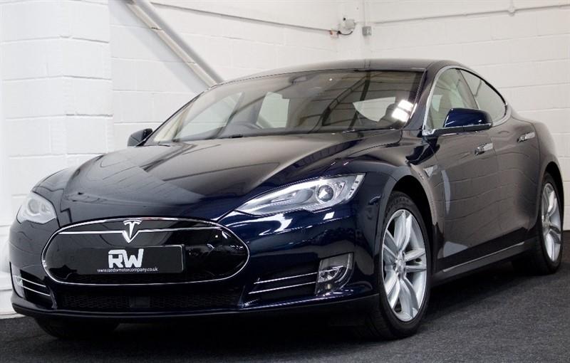 used Tesla Model S E 85 CVT 4dr (Nav) in berkshire