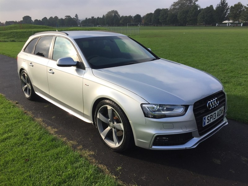 used Audi A4 Avant TDI QUATTRO S LINE BLACK EDITION in dundee-scotland